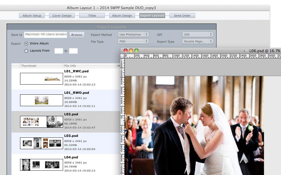 Photojunction Photoshop Exports