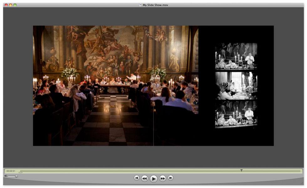 Photojunction Album Slideshow