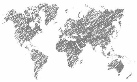 World Map Watermark.Queensberry Workspace